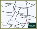 Directions to the Gasthof Hotel Hirsch Overview